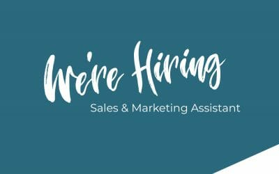 We're Hiring – Sales & Marketing Assistant