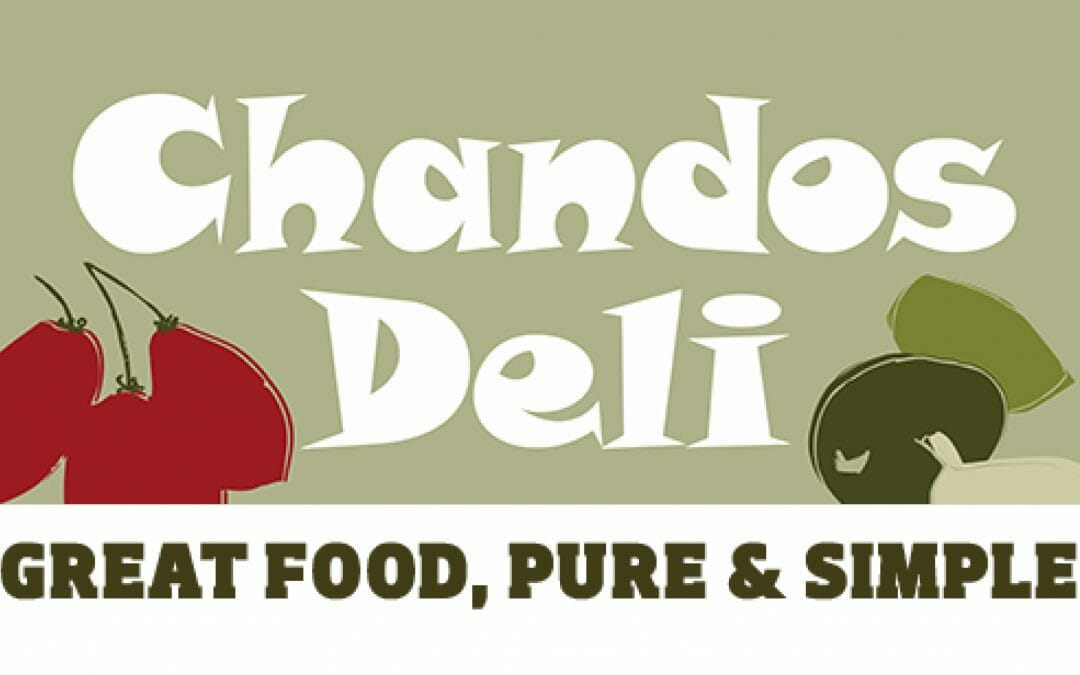 Find us in Chandos Deli
