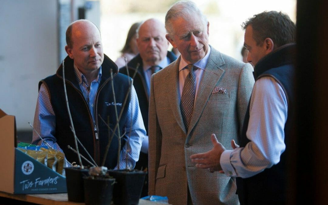 The Prince of Wales' Visit to Ditton Farm