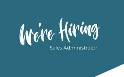 We're Hiring – Sales Administrator