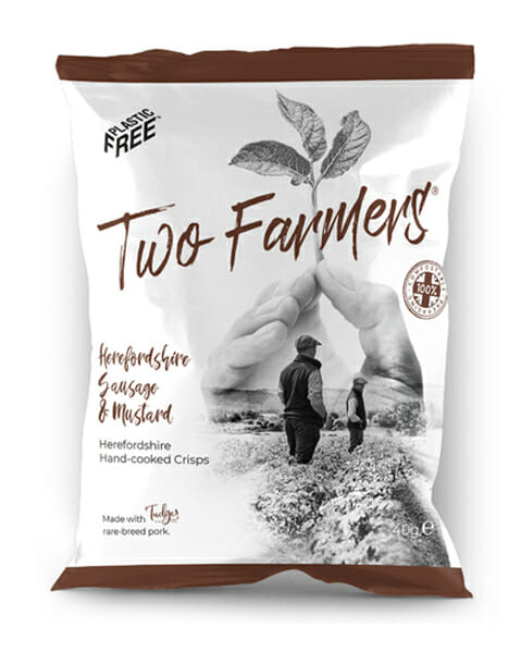 Two Farmers expands their range with NEW Herefordshire Sausage and Mustard flavour.